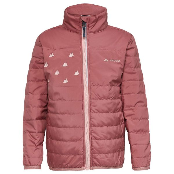 VAUDE - LIMAX PADDED JACKET - WARM WATTIERTE MÄDCHENJACKE - DUSTY ROSE