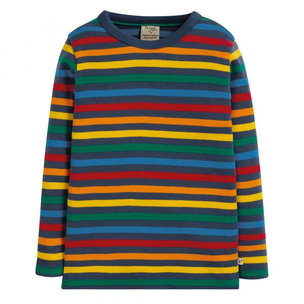 Favourite Long Sleeve Tee - Streifen Langarmshirt - Rainbow Stripe