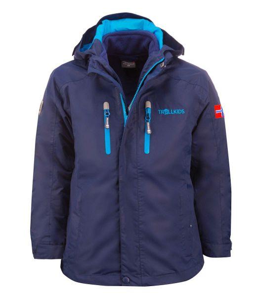 TROLLKIDS - Kids Myrdal 3in1 Jacket - 3in1-Funktionsjacke - navy/light blue