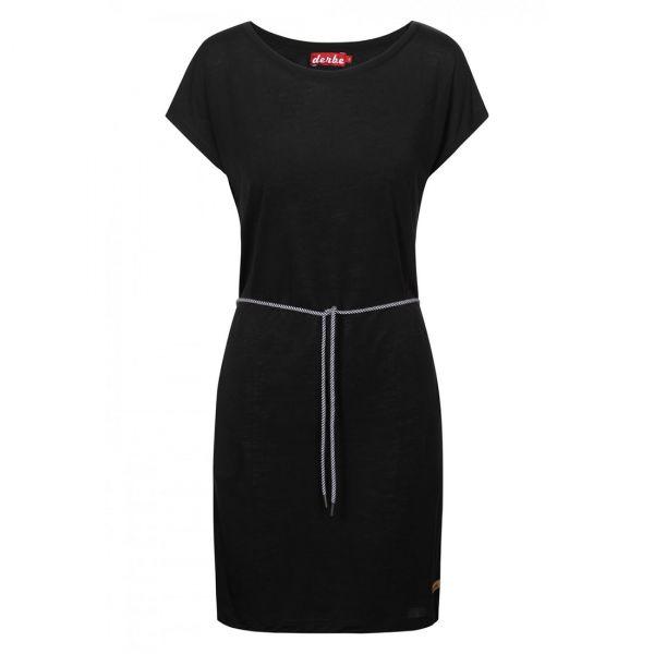 DERBE - BOTANIC DRESS - DAMEN KLEID - BLACK