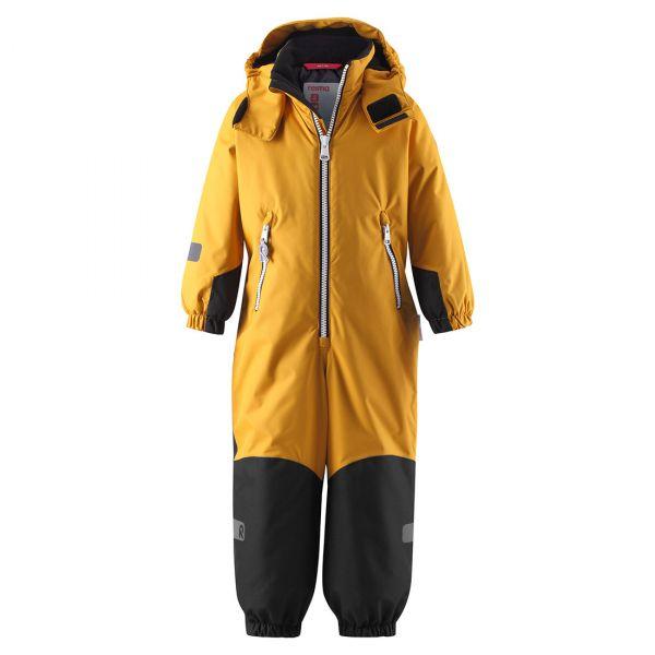 Reima - Finn - Reimatec Winter Overall - Schneeanzug - Dark yellow