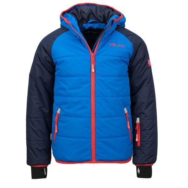 TROLLKIDS - Kids Hafjell Snow Jacket - Ski- und Winterjacke - navy/med blue/red
