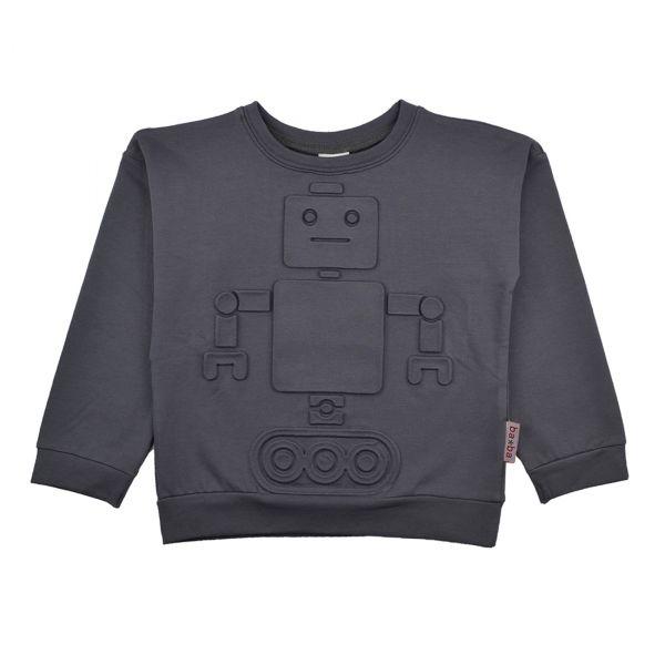 BABA - Robot sweater embossed - Langarmshirt mit Prägung - Roboter
