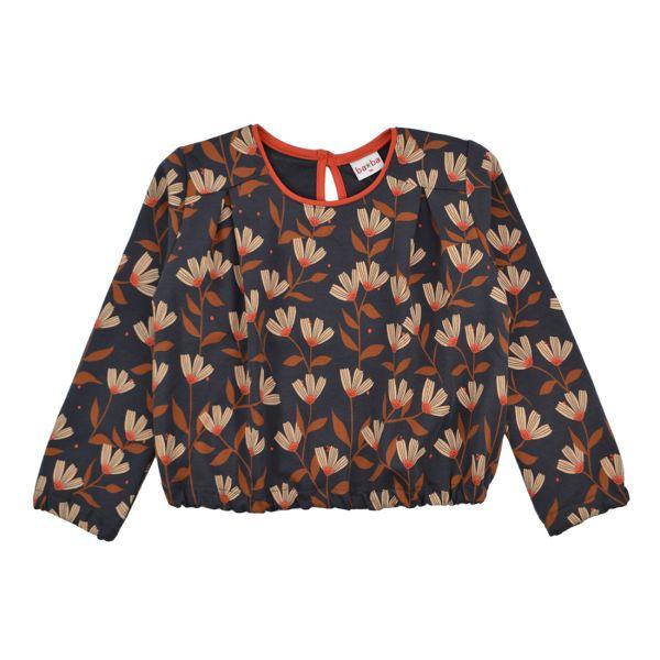 BABA - Elastic shirt - Mädchen Bluse Puffärmel