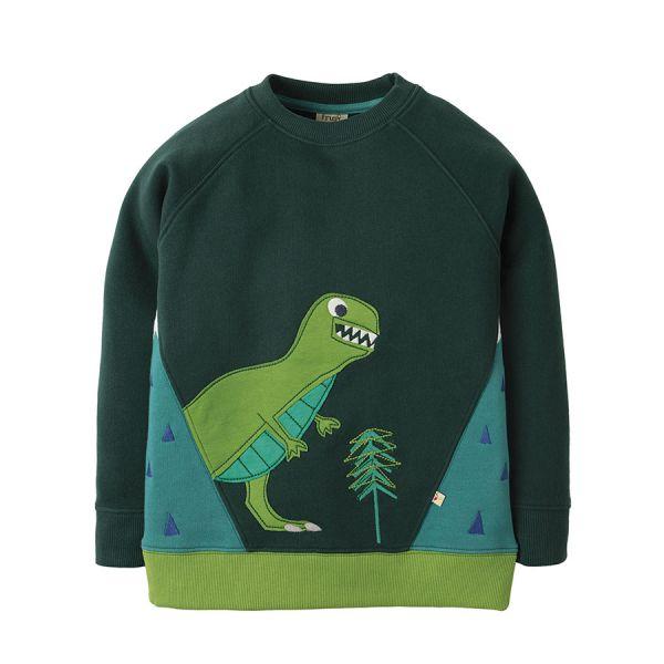 Summit Sweatshirt - Sweatpullover - Fir Tree/Dino