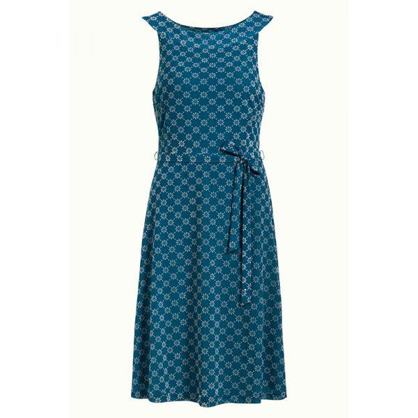 KING LOUIE - TILLY DRESS KEYLIME - DAMEN KLEID - BAY BLUE_1