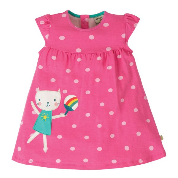 FRUGI - LITTLE LOLA DRESS - KURZARMKLEID
