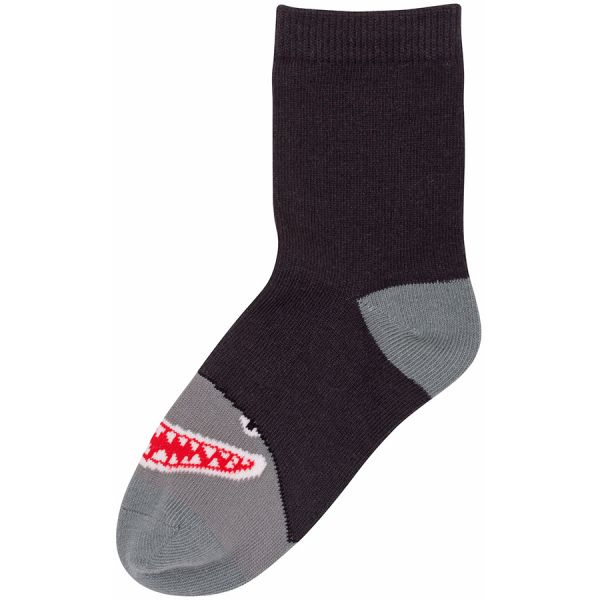 Dyr - Galop socks - Kinder Socken - Dark Grey HAI