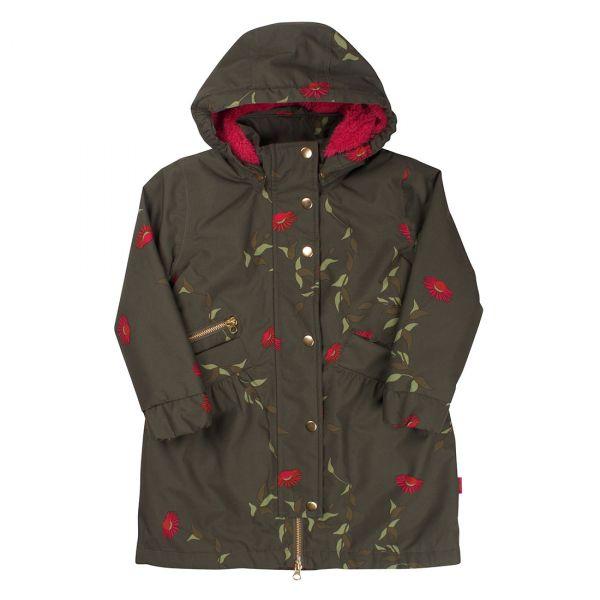 Danefae - Apple Winter Jacket - Mädchen Wintermantel - Army Picabella