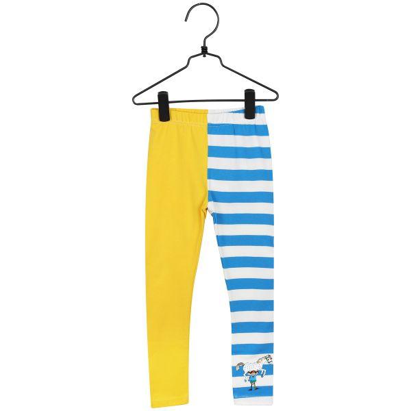 MARTINEX - PIPPI LEGGINGS - JERSEY HOSE - yellow/blue