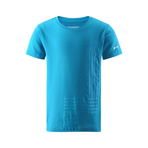 REIMA - SPEEDER - KURZARM T- SHIRT MIT FUNKTION - BLUE SEA
