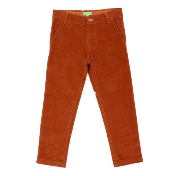 LILY BALOU - Noah trousers - Kordhose - bisquit brown