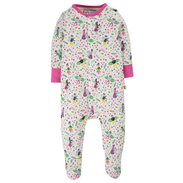 FRUGI - LOVELY BABYGROW - BABY STRAMPLER - MULTI FAIRY FRIENDS