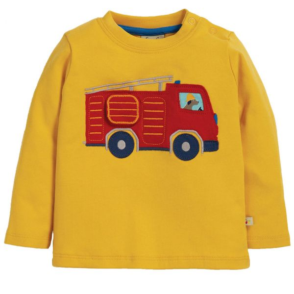FRUGI - IRA INTERACTIVE APPLIQUE TOP - LANGARMSHIRT
