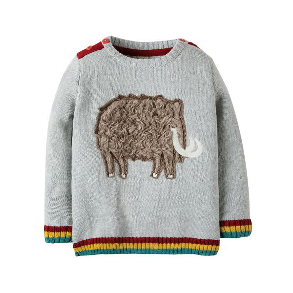 Cosy Creature Jumper - Strick Pullover - Grey Marl/Mammoth