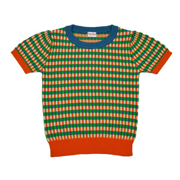 BABA - BETTY KNITSHIRT - STRICK PULLOVER - FAIENCE