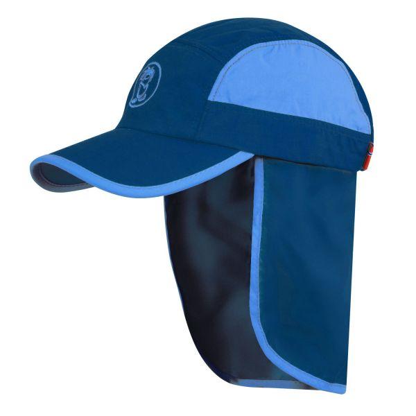 TROLLKIDS - KIDS TROLL CAP XT - SOMMERMÜTZE MIT UV- SCHUTZ - NAVY/MEDIUM BLUE
