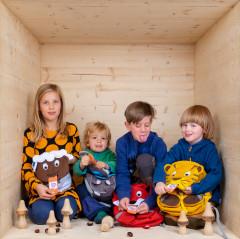 Rucksäcke für Kinder in Kita und Schule