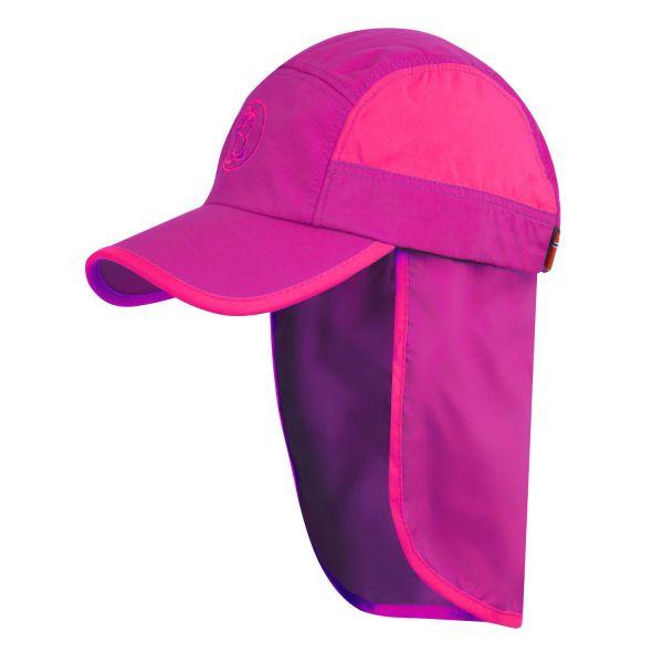 TROLLKIDS - KIDS TROLL CAP XT - SOMMERMÜTZE MIT UV- SCHUTZ - DARK ROSE/LIGHT MAGENTA
