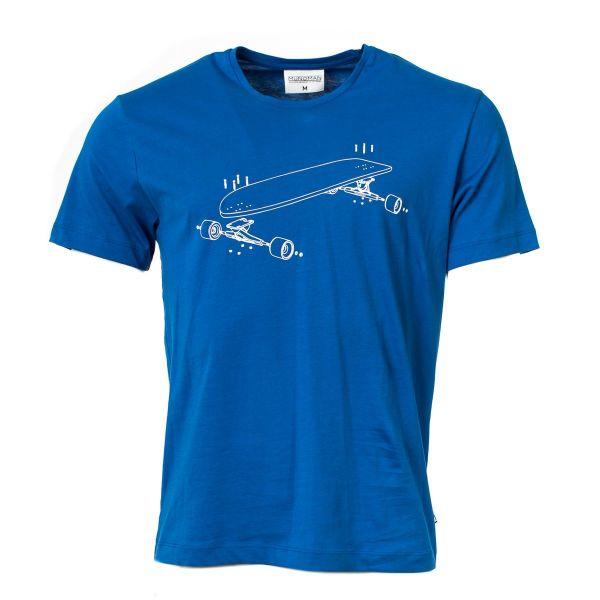 MUNOMAN - SHIRT TITO LONGBOARD - HERREN KURZARM T- SHIRT - BLUE