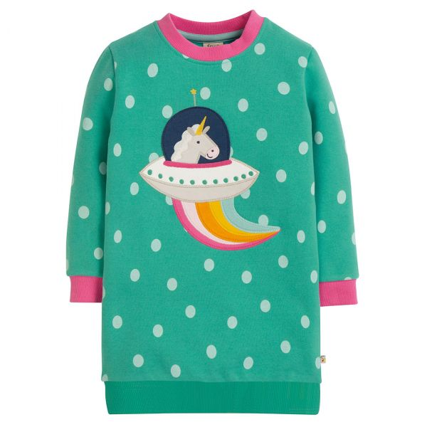 FRUGI - ELOISE JUMPER DRESS - SWEATKLEID
