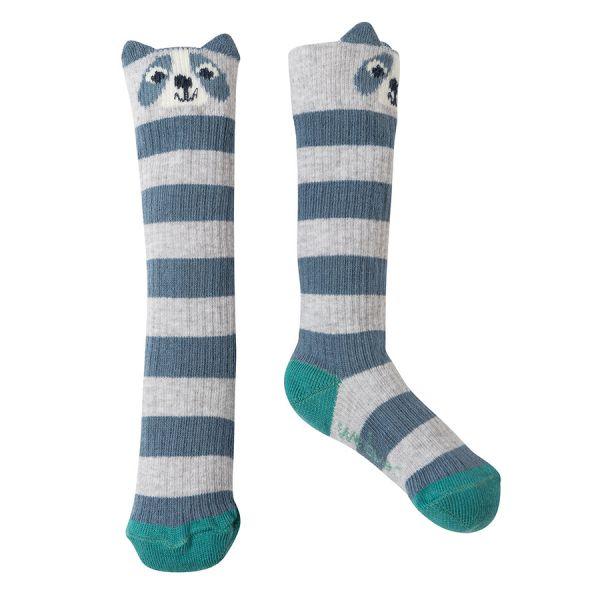 Friendly Face Socks - Kniestrümpfe