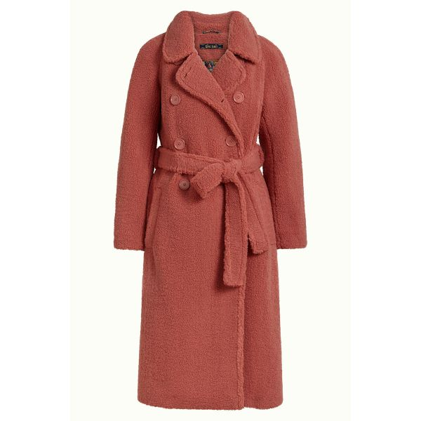 KING LOUIE - EDITH COAT MURPHY - DAMEN WINTER MANTEL - VELVET PINK