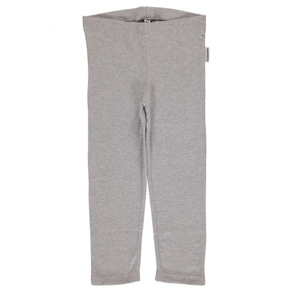 MAXOMORRA - Leggings - 3/4 light grey melange