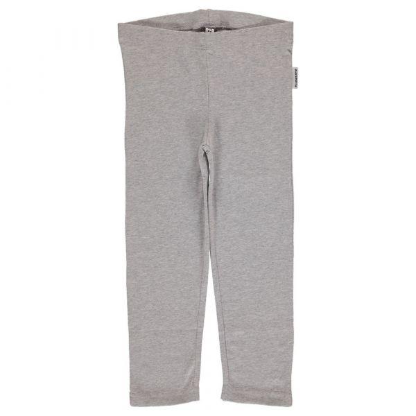 MAXOMORRA - Leggings - 3/4 light grey melange