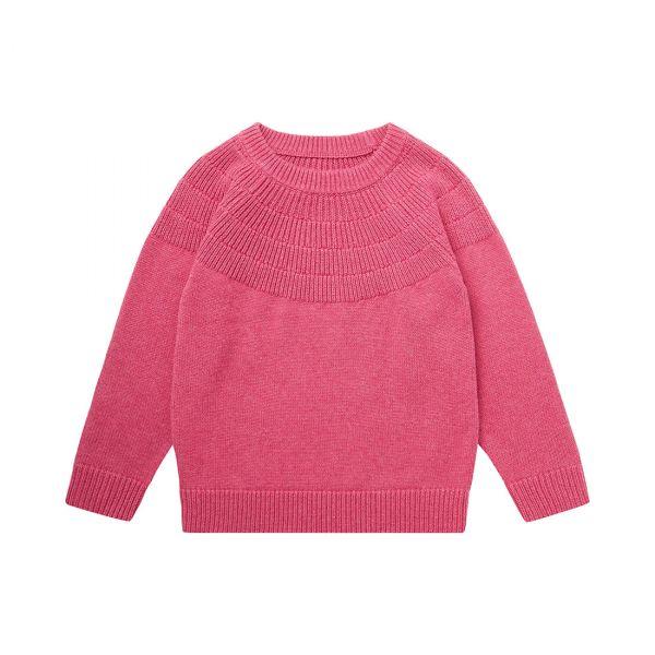 Sense Organics - GAHO - STRICK SWEATER - Pink