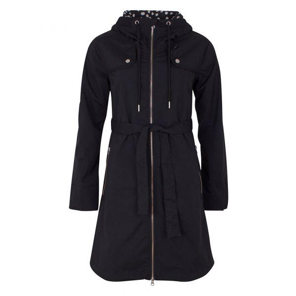 Danefae - Tyttebaer Stretch Jacket - Damen Regenmantel - black