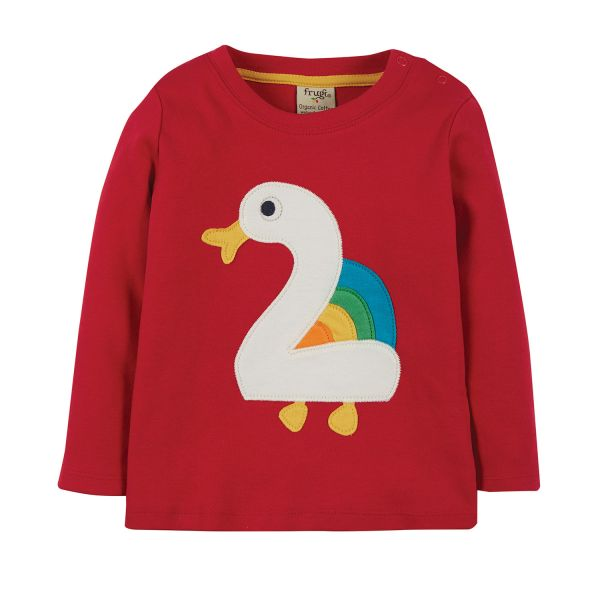 FRUGI - MAGIC NUMBER T-SHIRT - LANGARM GEBURTSTAGS T- SHIRT MIT NUMMER