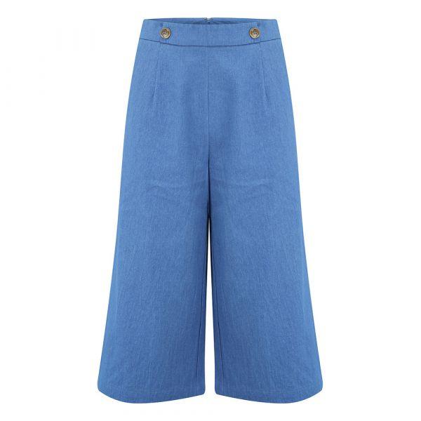 SUGARHILL - HARLOW - DENIM CULOTTES - DENIM BLUE