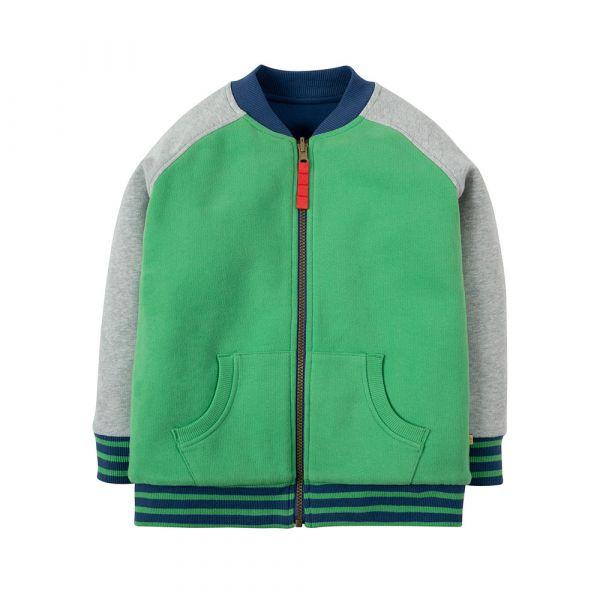 Frugi - Reese Reversible Jacket - Wendejacke - Field/Marine Blue