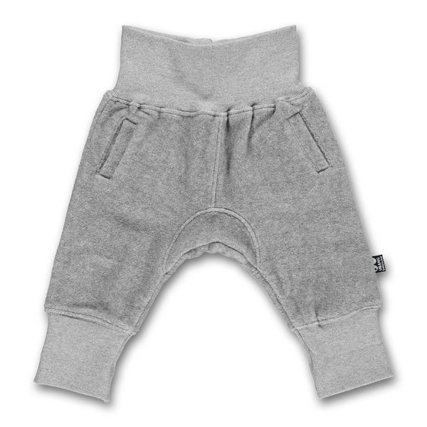 Ubang - Baby sweat pants - Sweathose - Grey melange