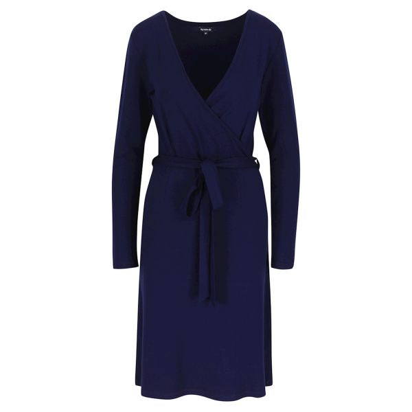 LILY BALOU - ETTA WRAP DRESS - DAMEN WICKELKLEID - PATRIOT-BLUE