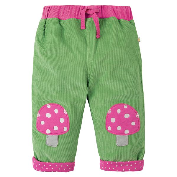 FRUGI - CORD PATCH TROUSERS - KORDHOSE