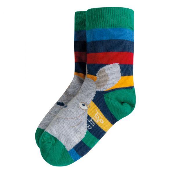 FRUGI - PERFECT PAIR SOCKS - SOCKEN - Rainbow Stripe/Rhino