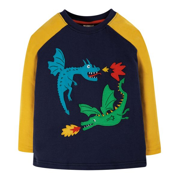 Alfie Applique Top - Langarmshirt