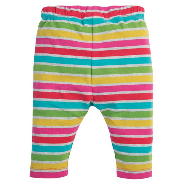 Libby Striped  - Leggings - Rainbow Marl Breton