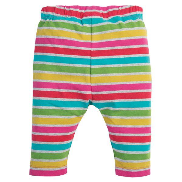 Libby Striped  - Leggings - Rainbow Marl Breton
