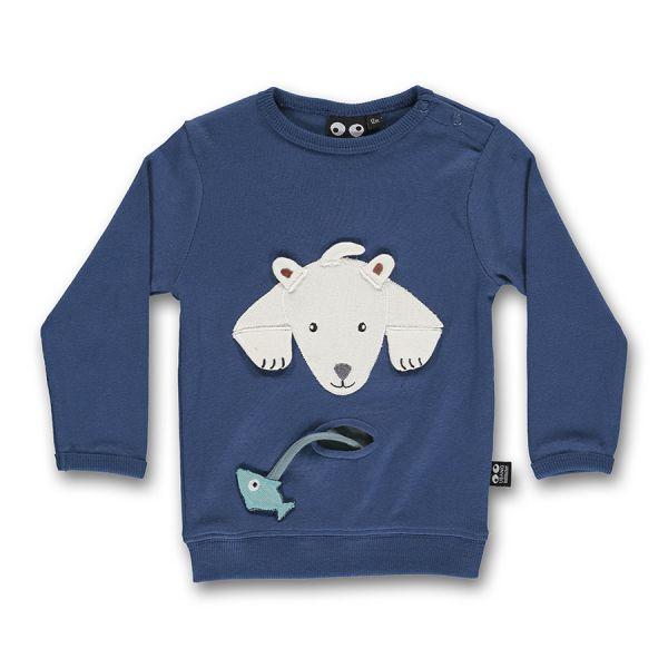 Ubang - Baby polar bear tee - Baby Langarmshirt