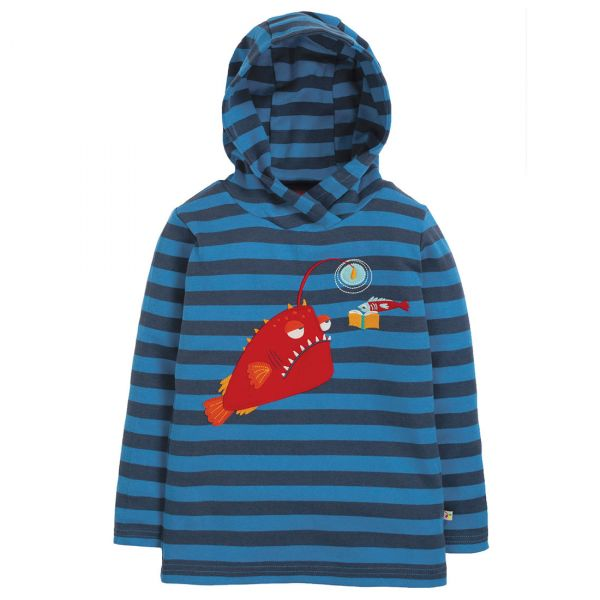 FRUGI - CAMPFIRE HOODED TOP - JERSEY HOODIE