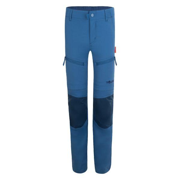 TROLLKIDS - KIDS NORDFJORD ZIP-OFF PANTS SLIM FIT- MIDNIGHT BLUE