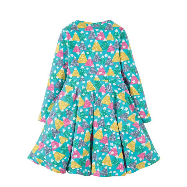 FRUGI - SOFIA SKATER DRESS - LANGARMKLEID