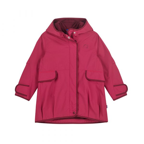 FINKID - SISKO - ZIP IN AUSSENJACKE - PERSIAN RED/CABERNET