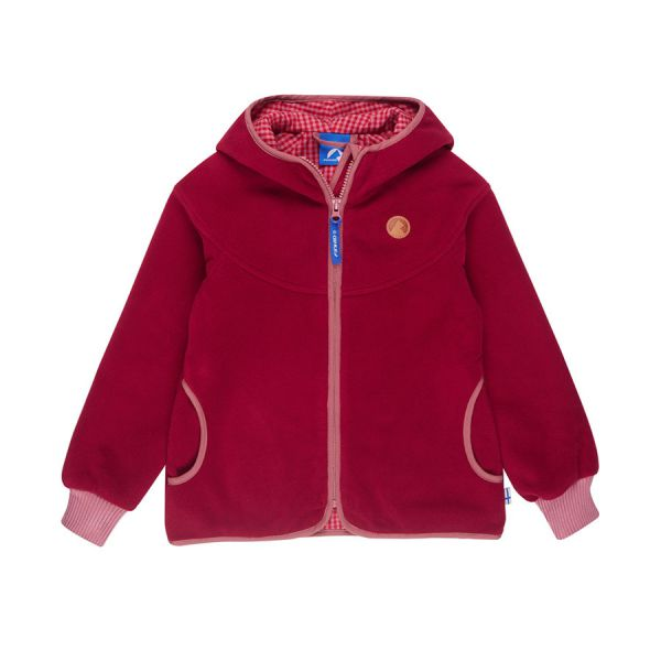 5e1663a931 FINKID - LAINE - MÄDCHEN ZIP IN FLEECEJACKE - PERS.RED/DUSTY ROS ...