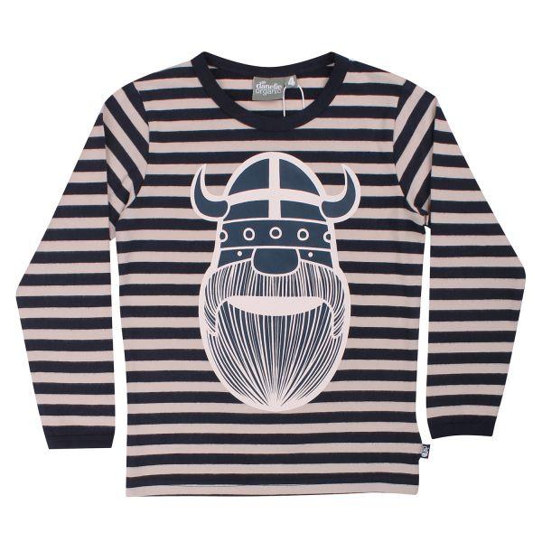Danefae - ORGANIC - Spire Tee - Jungen Langarm Streifenshirt