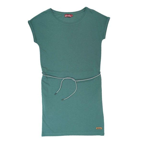 DERBE - BRICK DRESS - DAMEN KLEID - SAGE GREEN
