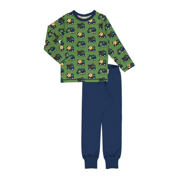 Maxomorra - Pyjama Set LS - Bio Schlafanzug lang